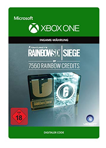 Tom Clancy's Rainbow Six Siege Currency pack 7560 Rainbow credits | Xbox One - Download Code
