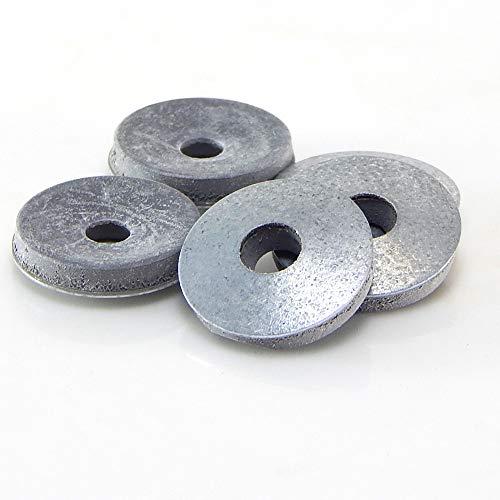 50 Stk. Dichtscheiben EPDM Unterlegscheiben mit Dichtung 16/19/22mm Gummi Dichtring (16 mm)