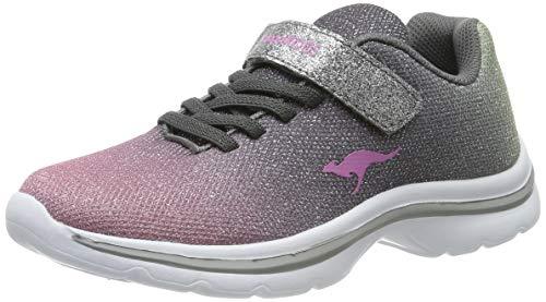 KangaROOS Unisex-Kinder Kangashine EV II Sneaker, Metallic/Multi 9033, 39 EU