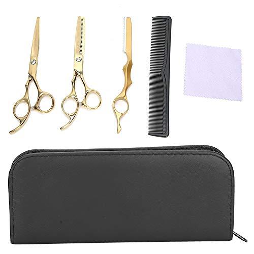 【𝐎𝐟𝐞𝐫𝐭𝐚𝐬 𝐝𝐞 𝐁𝐥𝐚𝐜𝐤 𝐅𝐫𝐢𝐝𝐚𝒚】Tijeras seguras para cortar el cabello, tijeras de peluquería, acero inoxidable de alta calidad para uso doméstico, peluquería profesional para peluquería