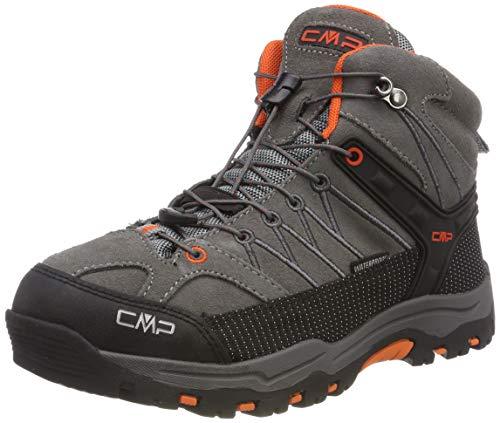 CMP Unisex-Erwachsene Rigel Mid Trekking-& Wanderstiefel, Grau (Stone-Orange 78uc), 34 EU