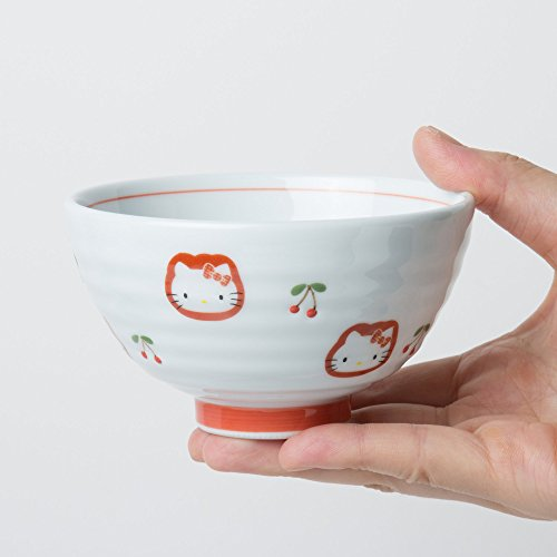 ランチャン(Ranchant)茶碗マルチΦ10.7x高さ6.2cmハローキティチェリー有田焼日本製