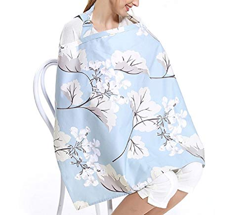 Great Price! Nursing Covers Cotton Mother Breastfeeding Cover Adjustable Neckline Baby Feeding Produ...