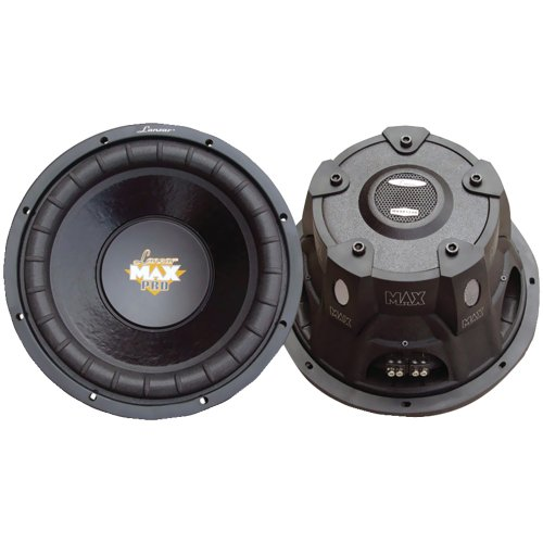 "LANZAR MAXP104D MaxPro Series Small 4Ω Dual Subwoofer (10"", 1,200 Watts)"