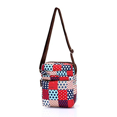 Bolso de mano/Bolsa bandolera/Messenger Bag/paquete sección Vertical