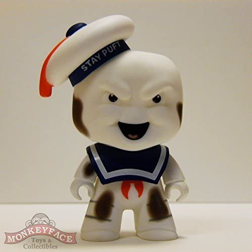 Titans Ghostbusters 'Who Ya Gonna Call' Vinyl Figure Series - STAY PUFT BURNT VARIANT (1 40 Rarity)  Opened to Identify by Titan Merchandising