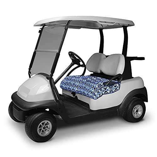 Vera Bradley by Classic Accessories Water-Resistant Golf Seat Blanket, 54 x 32 Inch, Ikat Island