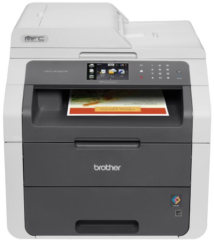 Brother Printer RMFC9130CW Wireless Color Printer with Scanner, Copier & Fax (Renewed)