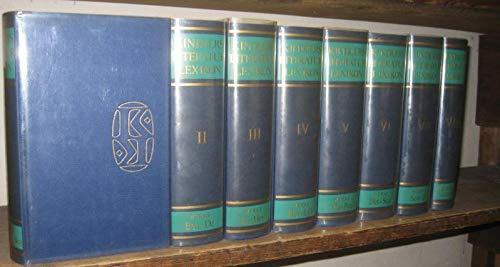 Kindlers Literatur Lexikon. Komplett in acht ( 8 ) Bänden.