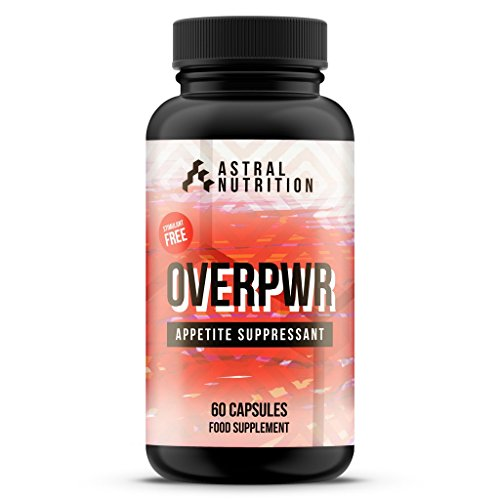 Overpwr Appetite Suppressant - 1 Month Supply | Stops Hunger | Promotes Feeling of Fullness | Burns Fat | Stimulant-Free | Speeds Up Weight Loss