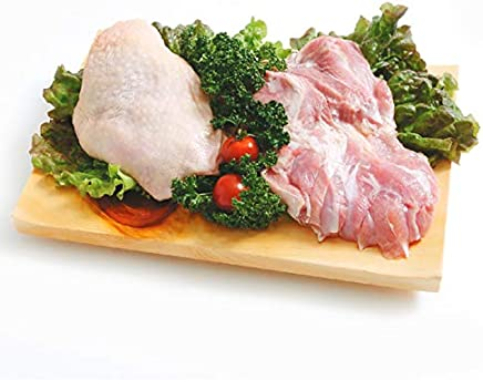 ふもと赤鶏 鶏もも肉 1kg(1パックでの発送) (佐賀県産) (mk)(129379)