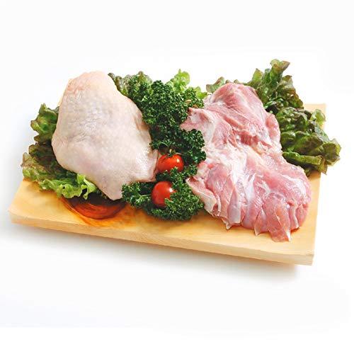 阿波尾鶏 鶏もも肉 2kg(1パックでの発送) (徳島県産) (pr)(03720)特定JAS認定 国産出荷量ナンバー1の軍鶏血統地鶏