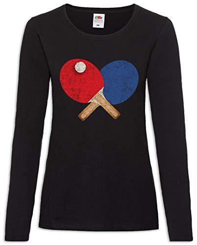 Urban Backwoods Table Tennis Tools I Women T-Shirt Mujer Camiseta de Manga Larga