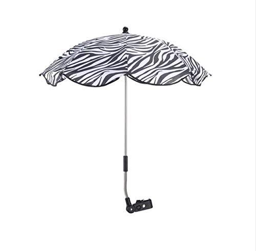 Xiaojing Niños Bebé Paraguas Parasol Buggy Sillón Cochecito De Niño Sombra Cubiertas del Dosel Cochecito De Bebé Accesorio Protección Solar Paraguas