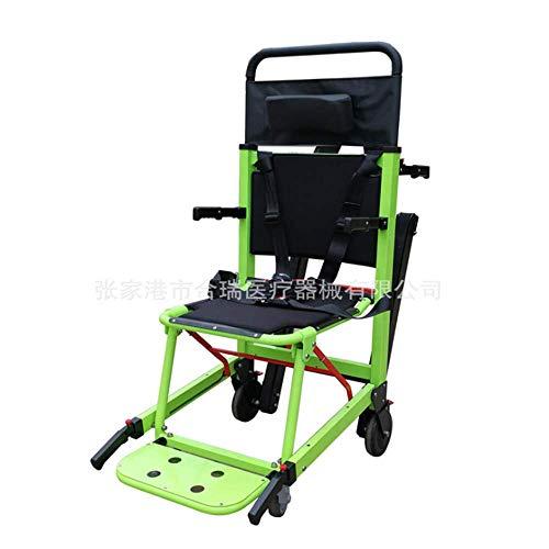 MEIGONGJU Stuhl Treppe Bahre Treppenevakuierungsstuhl Flucht Stuhl einfach einfach zu stoppen sichere und zuverlässige elektrische Bahre zu bedienen