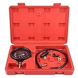 Kit de medidor de bomba de vacío y combustible, bomba de vacío y probador de vacío para motor de coche Keeno, diagnóstico de presión de carburador y prueba de fugas