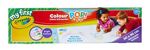 Crayola – Mini Kids – Teppich für Zeichnungen Color Pop! - 18 Monate – Malerei für Kinder und Kleinkinder – 256459.006