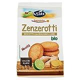 Zenzerotti bio, Biscotti con Zenzero e Lime, Vegan Ok - 200 gr