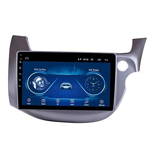 MonLG 10'Android 10 Auto-Head-Unit-Player Mit Rechtslenkung GPS-Navigationsradio, FüR Honda FIT Jazz 2007-2013...