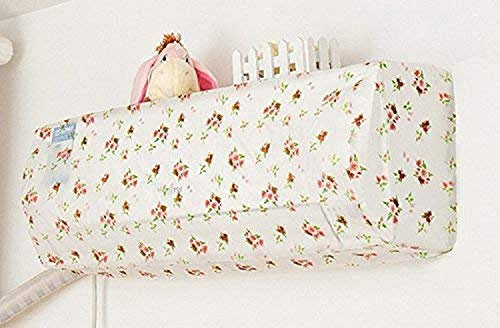 EASY SHOPE 1-Pcs Polyester Air Conditioner Cover (110 X 33 X 31 cms, Multicolour)