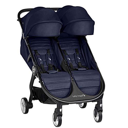 Baby Jogger City Tour 2 Doble Seacrest - Cochecito gemelar desde nacimiento. Color azul