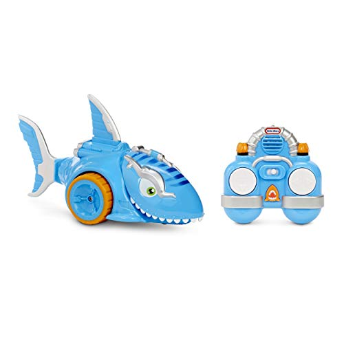 Little Tikes Shark Strike RC Remote Control Toy Car, Multicolor