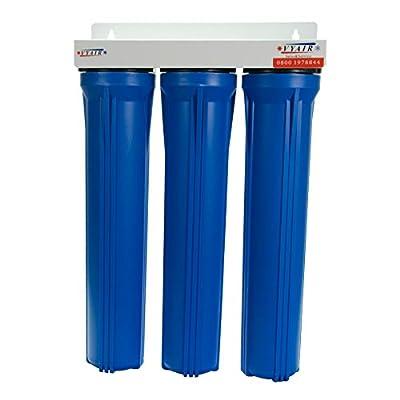 "VYAIR Koi Carp, Tropical Fish, Garden Pond Tap Water Filter 3-Stage Dechlorinator & Aquarium Water Purifier (20"")"