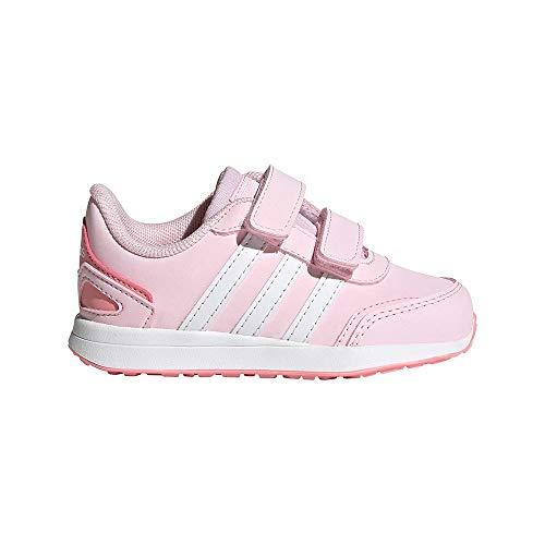 adidas VS Switch 3 I, Scarpe da Ginnastica, Clear Pink/Ftwr White/Super Pop, 27 EU