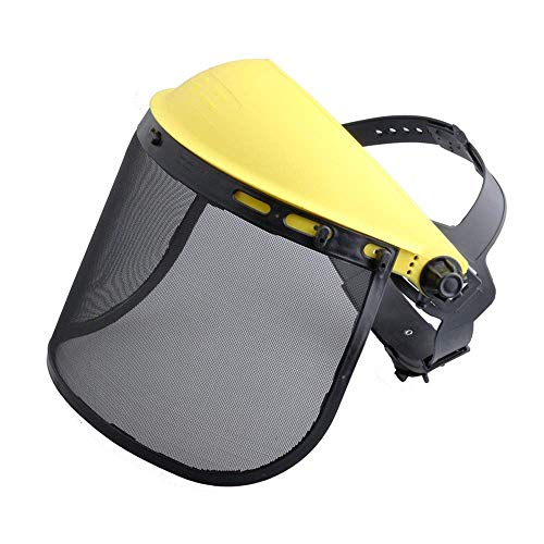 Coolwind Safety Face Shield with Mesh Visor for Chainsaw Trimmer Pole Pruner