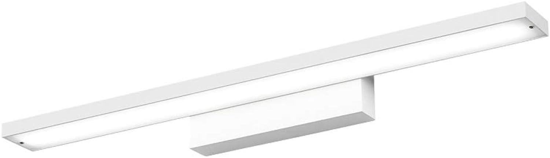 WB_L Spiegellampen Geführte Spiegel-Scheinwerfer, wasserdicht und feuchtigkeitsfestes Badezimmer-Badezimmer-kreatives modernes minimalistisches Badezimmer-Aluminiumspiegel-Licht