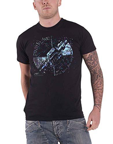 Générique Pink Floyd T Shirt Wish You Were Here Machine Greeting Bleu Officiel Homme Size L