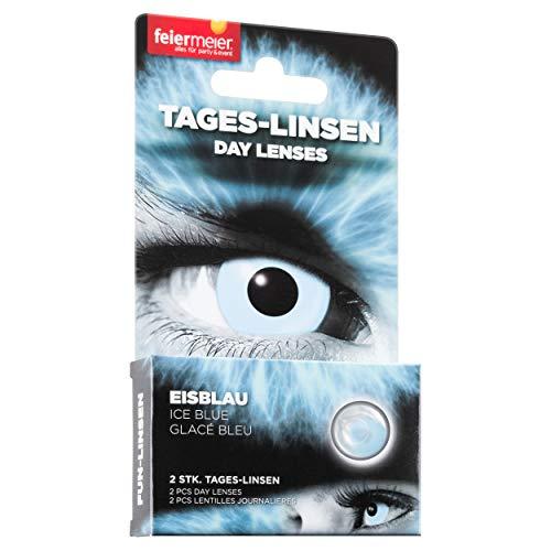 Kontaktlinsen FM 1T/0dpt/14,5mm Eisblau
