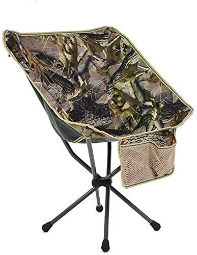 FACAZ Sillas de jardín sillones reclinables Cómoda Silla de Pesca Mochila Plegable Sillas de Viaje para Acampar al Aire Libre Sillas de salón portátiles Metal (Color: A)
