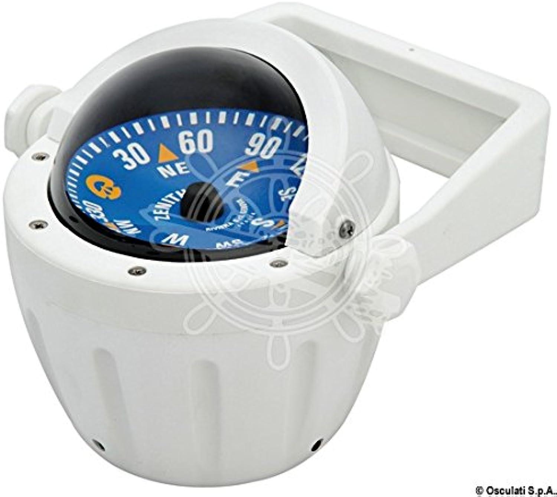 RIVIERA Boat Marine High Speed Compass 3 80mm White bluee Flat pink