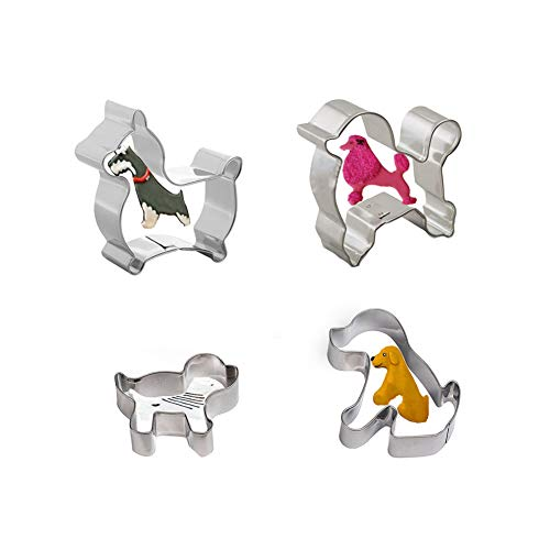 Dog-Shaped Cookie Cutter