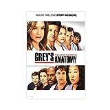 Grey's Anatomy Season 1 Poster Leinwand Poster Schlafzimmer