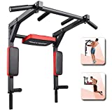 ANTOPY Pull Up Bar Wall Mounted Dip Bar Multifunctional Home Gym Equipment Multi Grip Chin Up Workout Dip Station Power Tower for Strength Training Support to 440lbs