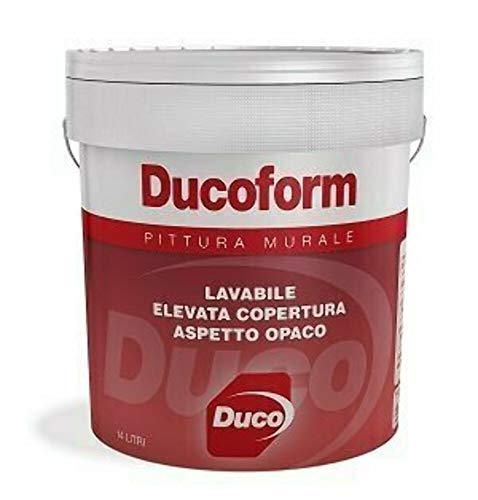 PITTURA MURALE LAVABILE PER INTERNI DUCOFORM DUCO litri 14