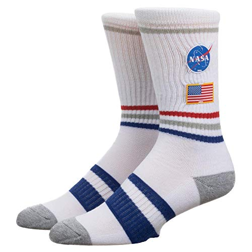 Bioworld Merchandising / Independent Sales NASA Patch Crew Sock Standard