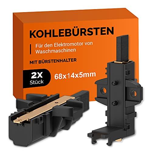Carboncini motore 2 pezzi spazzole di carbone di ricambio per 405505048/0 4055050480 carbone con supporto AMP adatto per 379441100-3/3794411003 Welling Motor lavatrice