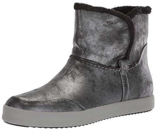 Geox Damen Blomiee 5 Slip On Ankle Boot Stiefelette, Anthrazit Dunkelgrau, 40.5 EU