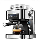 Cafeteras para Espresso,Capacidad del Depósito De Agua: 1,6 L, Bomba De 0-20 Bar, Potencia: 850 W, Cafetera Semiautomatica, Cafetera Espresso, Cafetera Expresso Y Capuccino