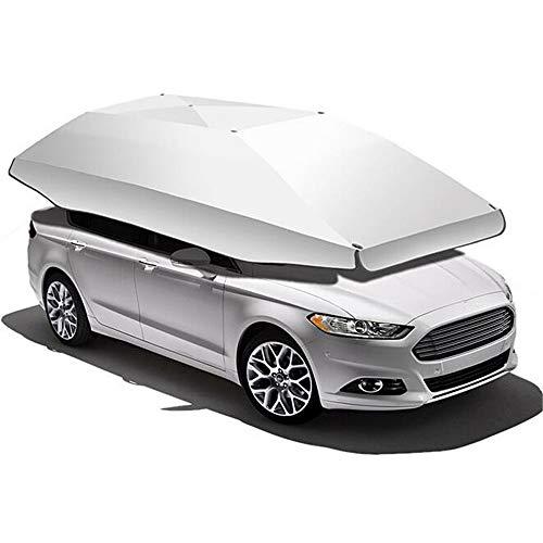 ZXLIFE@@ Grote Gebied Auto Tent Carport, Automatische Auto Paraplu Draadloze Auto Luifel Zonnekap Tent met Twee Gebruik Makkelijk Te Gebruiken Voor Elke Auto