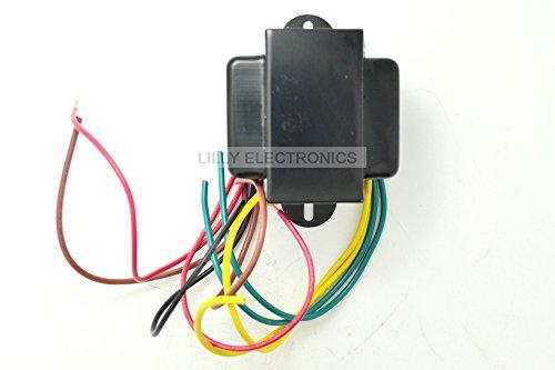 Q-BAIHE 220V Eingang ZL663502 6N1 6N3 Schlauch Tone Platte passender Transformator, Ausgang 220V-0-220V 6.3V 8V