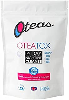 Oteas OTEATOX 14 Day Nightime Cleanse Tea - 14 per pack (0.07lbs)