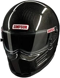 SIMPSON SAFETY Medium Carbon Fiber Carbon Bandit Helmet P/N 620002C