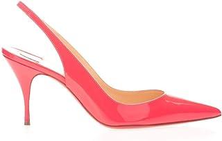 Luxury Fashion   Christian Louboutin Women 1201097P073 Pink Leather Heels   Spring-summer 20