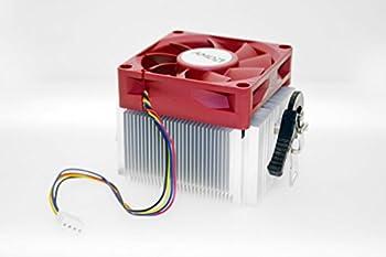 PartsCollection Genuine AMD A8 7600 FM2+ Heat Sink Fan  RED Edition