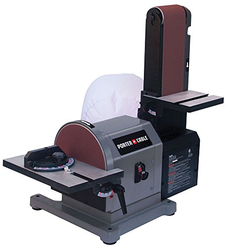 "Porter-Cable PCB420SA Belt with 8"" Disc Bench Sander, 4"" x 36"""