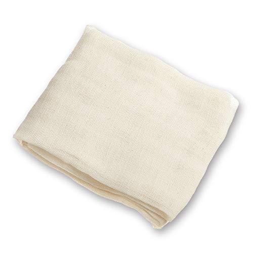 Arkham Passiertuch Käsetuch Nussmilchbeutel Natur aus 100% Baumwolle,Vielseitige Seihtuch für Filter 90x90cm(1 Stück)